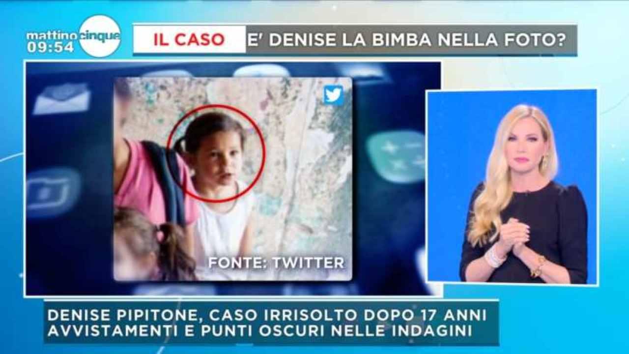 Denise Pipitone Mattino Cinque