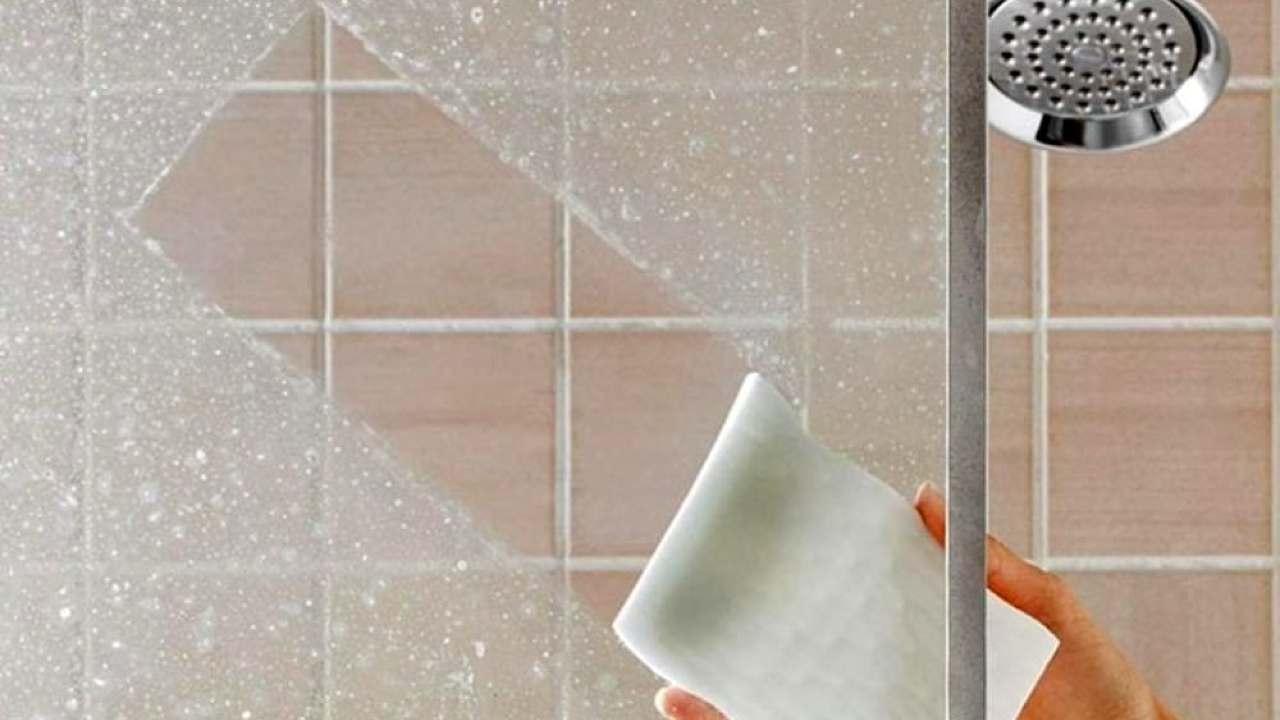 pulizia casa box doccia