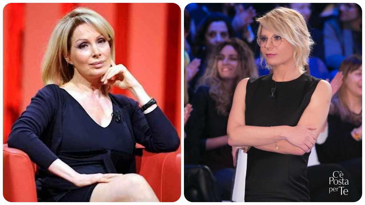 Marta Flavi e Maria De Filippi Maurizio Costanzo