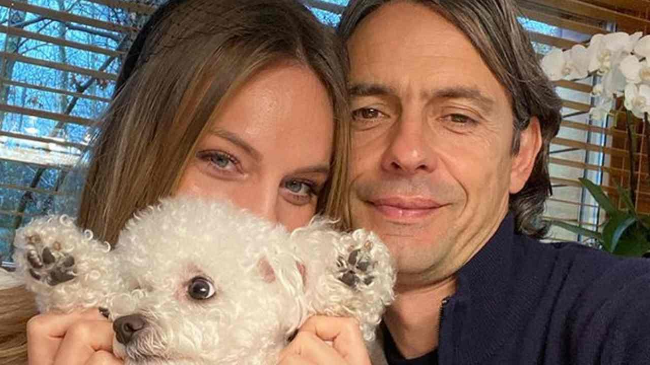 Pippo Inzaghi e Angela Robusti